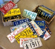 selection of licence plates
