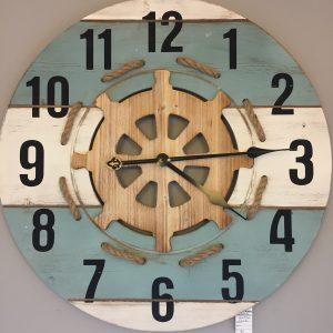 Nautical theme wall clock.