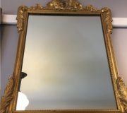 carved giltwood framed mirror