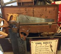 vintage hand saws